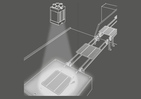 Vision camera voor breukcontrole - SensoPart