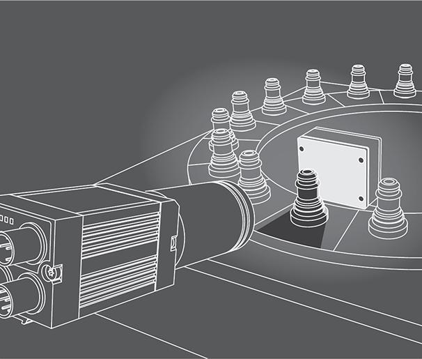 Vision camera voor meten van afstand en dikte - SensoPart