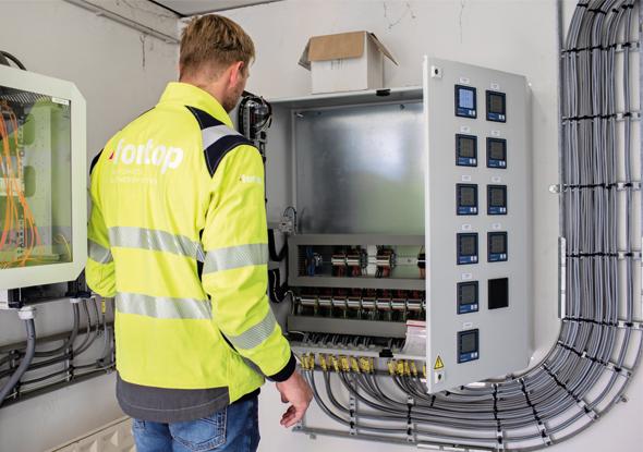 Tijdelijke of permanente meting met Janitza meters - fortop NL