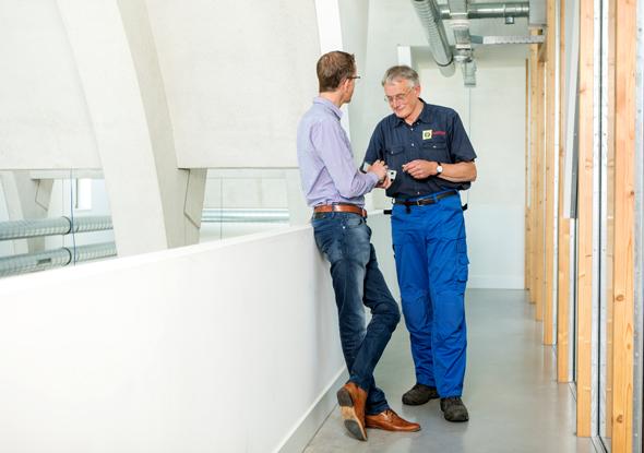 Van den Bor Elektrotechniek en fortop_samenwerking