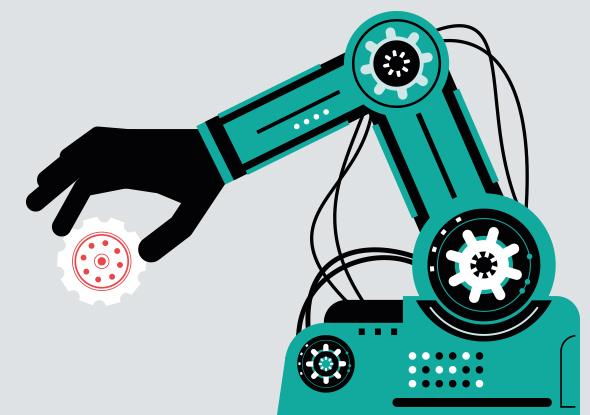 De opmars van de robot in de industrie - nieuwsbrief fortop
