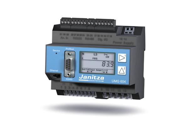 Analyseur de puissance UMG 604 - Janitza