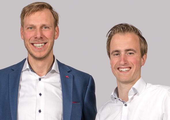 Meetspecialisten Jarno Schoen en Joeri Kruithof - Fortop Automation & Energy Control