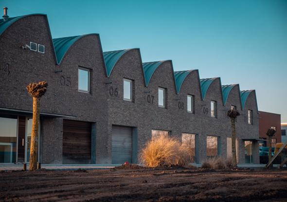 Voortgang bouw pand zwartsluis - fortop