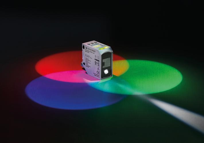 Kleurensensor met interne afstandmeting - SensoPart