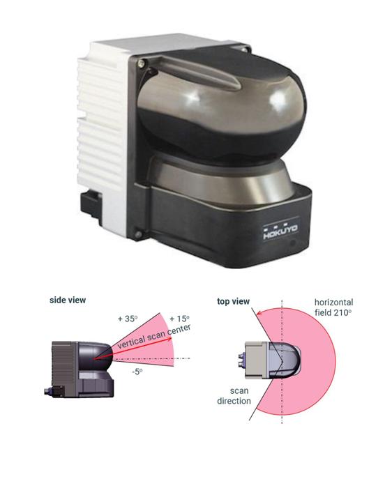 3D laserscanner - 3D-LIDAR sensor - YVT-35LX - Hokuyo Automatic