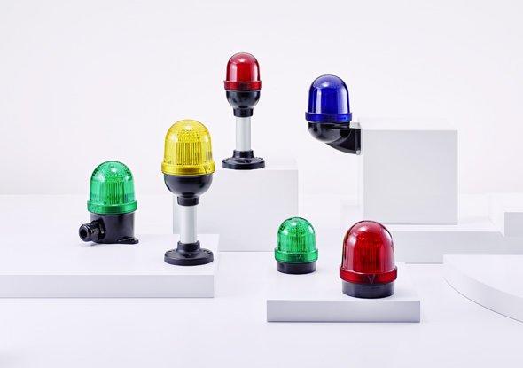 Signaallampen voor opbouw- en paneelmontage - Auer Signal
