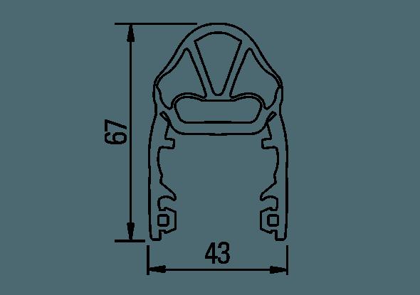 Flexibele eindkap EN-C81 | Bircher Reglomat