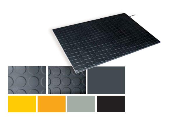 Veiligheidsmatten - kleuren - structuren - BBC Bircher Smart Access
