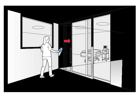 Clean switch voor ziekenhuizen, klinieken en bejaardenhuizen - BBC Bircher Smart Access