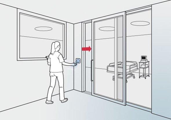 Contactloze schakelaar - CleanSwitch - BBC Bircher Smart Access