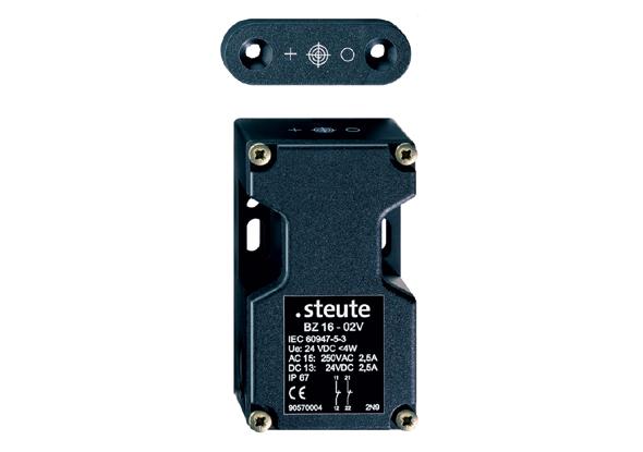 Contactloze elektronische veiligheidsschakelaars BZ-serie - steute