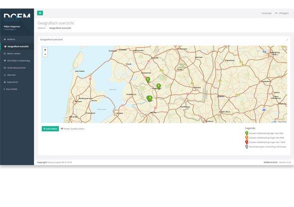 DCEM Cloud - Maps-functie