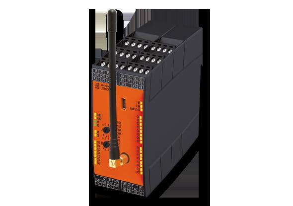Draadloos veiligheidszones verbinden met SAFEMASTER W-series - DOLD