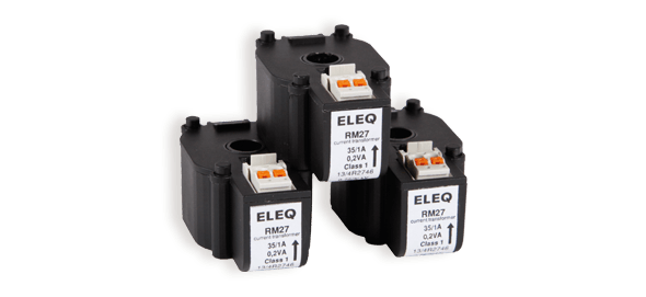 Small stackable electrical transformer Eleq RM27