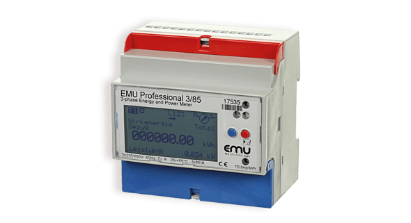 EMU Professional kWh meter - EMU Electronic