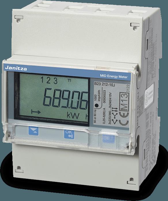 B 23-serie energiemeters / kWh meters - Janitza
