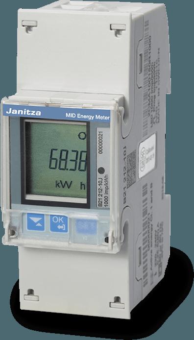B 21-serie energiemeters / kWh meters - Janitza
