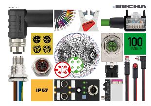 Catalogus sensor en actuator kabels en connectoren - ESCHA