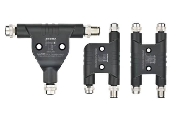 M12 t-splitters en h-splitters - ESCHA