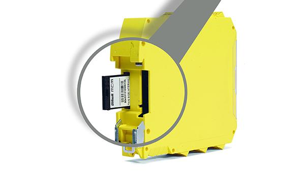 Programmeerbaar modulair veiligheids-PLC - MCM-geheugenkaart - Mosaic - ReeR Safety