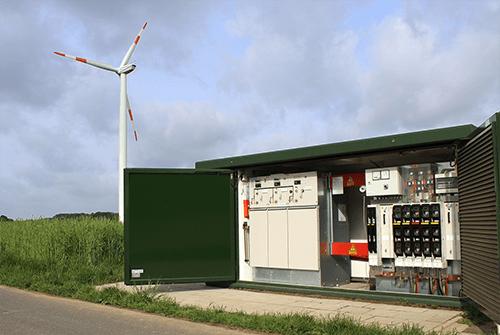 Transformatorhuisje met kortsluitconnectoren - ILME
