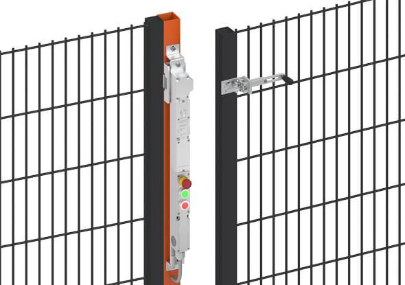 Bedieningsknoppen voor interlocks