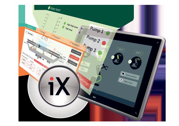 Le logiciel iX est compatible avec plus d'une centaine de pilotes - Beijer Electronics