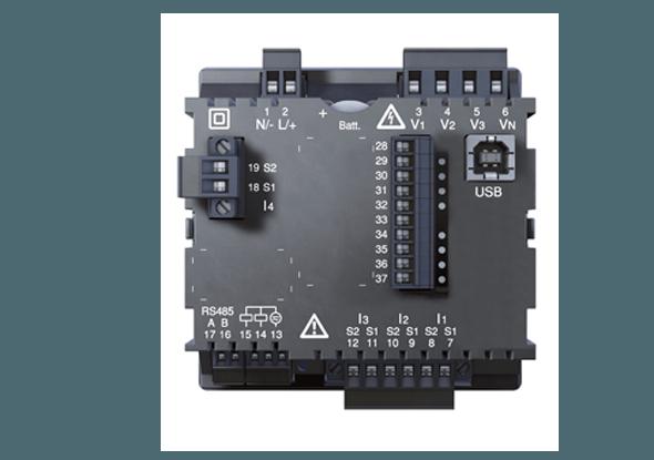 Universeelmeter UMG 96RM-CBM Clock Battery Memory - Janitza