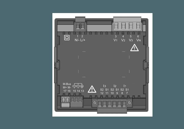 Universeelmeter UMG 96RM-M M-bus - Janitza