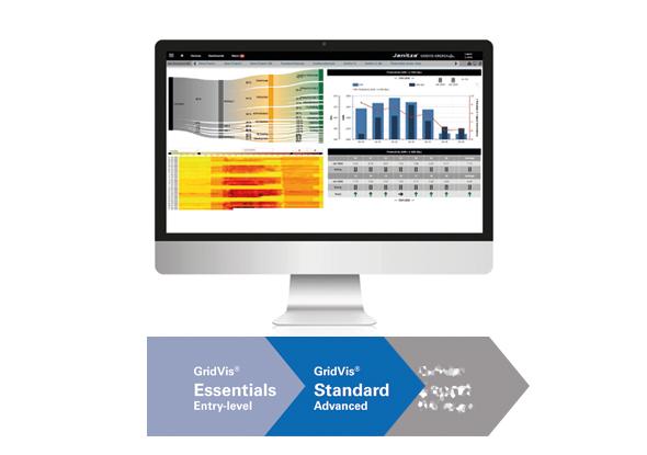 Energiemonitoring software - GridVis® Standard - Janitza Electronics