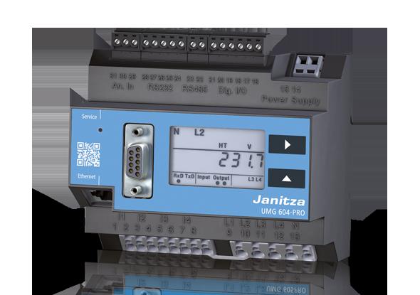 Power Analyser UMG 604-PRO - Janitza