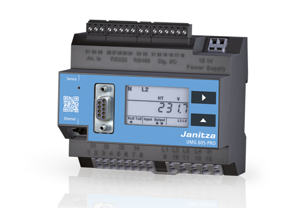 Power quality analyser UMG 605-PRO - Janitza