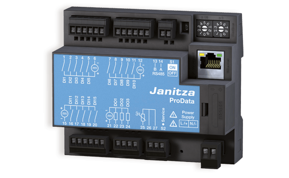 Janitza PRO Data datalogger