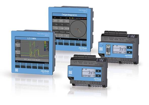 Energiemeters - Power Quality Analysers - Janitza PRO-serie