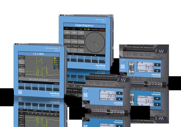 PRO-serie energiemeters | Janitza