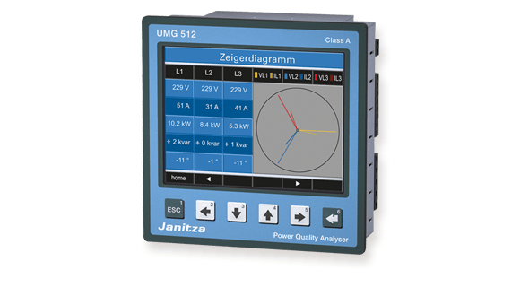 Power quality analyser UMG 512 - Janitza