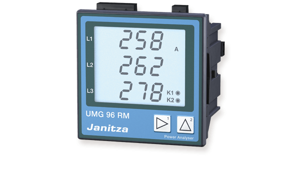 Universeelmeter UMG 96RM-serie - Janitza