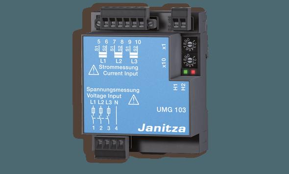 Universele energiemeter met communicatie UMG 103 | Janitza