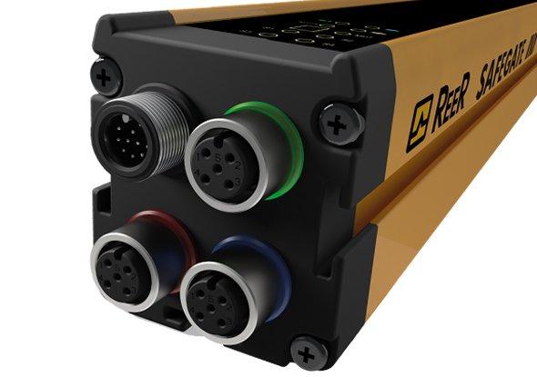 Kabels aansluiten op muting lichtscherm - ReeR