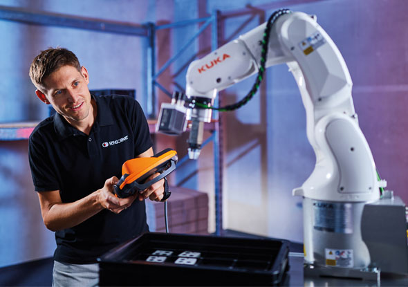 KUKA app voor robotapplicaties - SensoPart