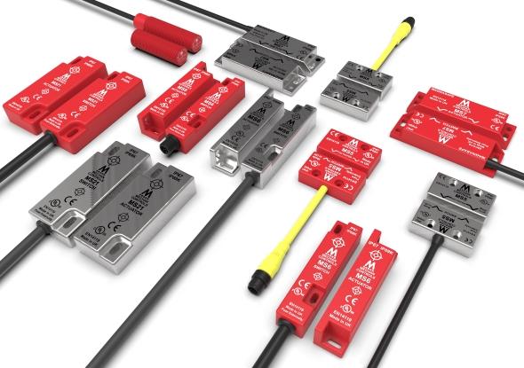 Magnetische veiligheidsschakelaars - Mechan Controls