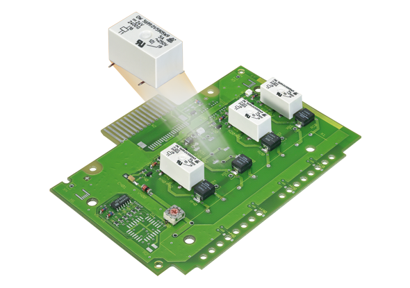 Miniatuurrelais - Printrelais - PCB relais - DOLD