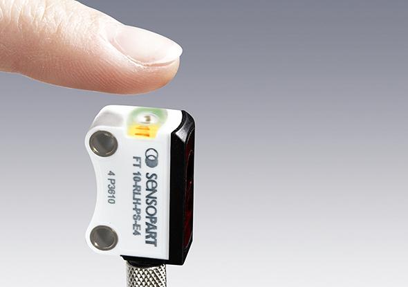 Miniatuursensor F10 serie Teach in - SensoPart