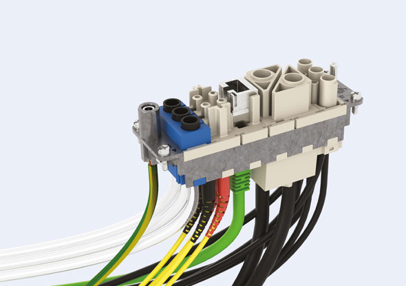 MIXO binnenwerk - Industrie connector - ILME