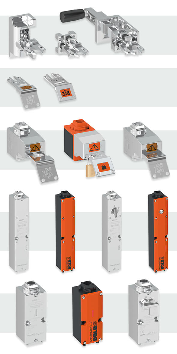Modulaire interlocks voor interlock systeem - DOLD
