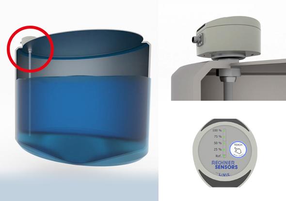 Niveausensoren voor niveaudetectie - SensoPart - Rechner Sensors