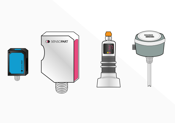 Niveausensoren voor niveaumeting - SensoPart - Rechner Sensors