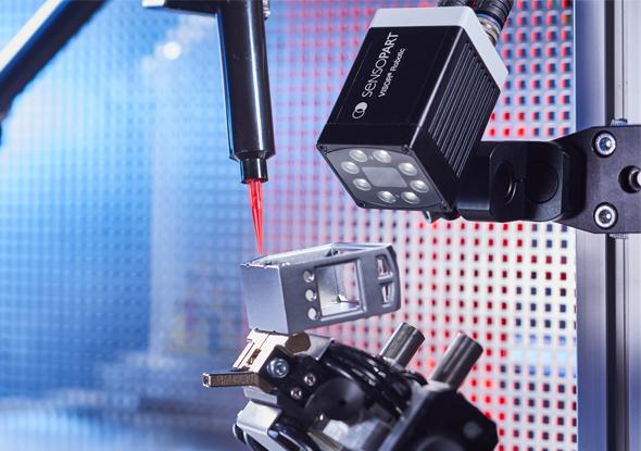 Plaatsen van onderdelen - VISOR®-Robotic vision sensor - SensoPart
