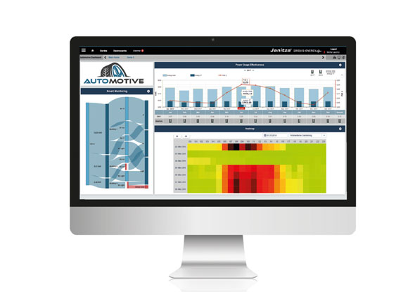 Power monitoring software - GridVis® Ultimate 7.3 - Janitza
